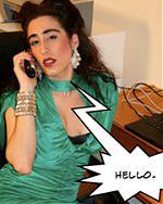 Lucinda gets a call...
